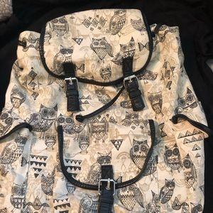 Owl Fashion Backpack